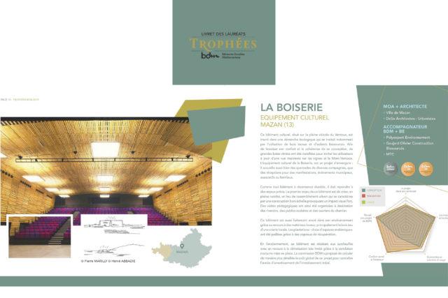 La Boiserie – Mazan (84) – Trophées BDM OR – 2019