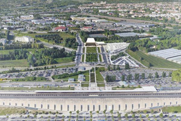 Trung tâm biểu diễn Opera tạm thời – Avignon, Pháp