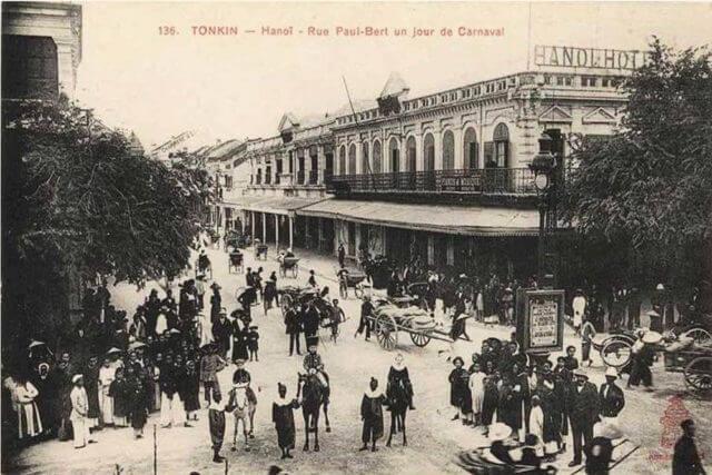 Espaces publics Hanoi quartier Français