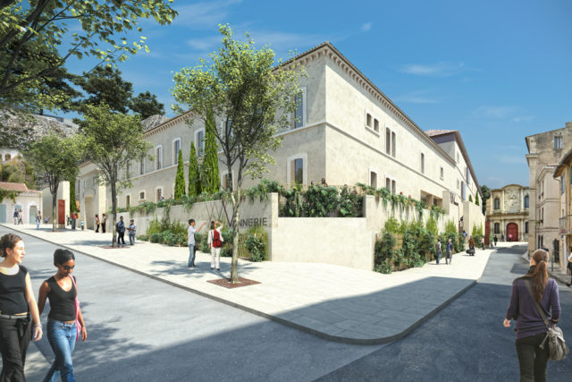 Contemporary refurbishment of the Saint Anne prison – Avignon (France)