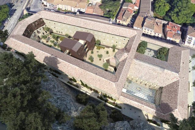 Cải tạo nhà tù cổ – thành phố Avignon (84)