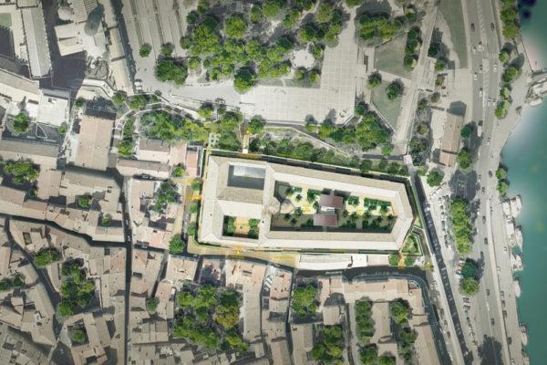 Cải tạo nhà tù cổ Saint Anne – thành phố Avignon, Pháp