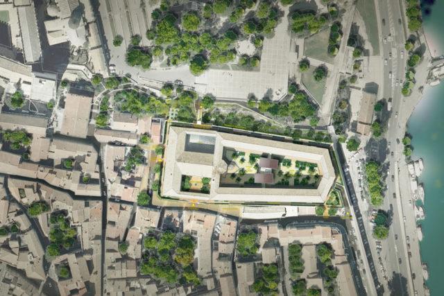 Reconversion de la prison Saint Anne en logements et friche culturelle – Avignon (84)
