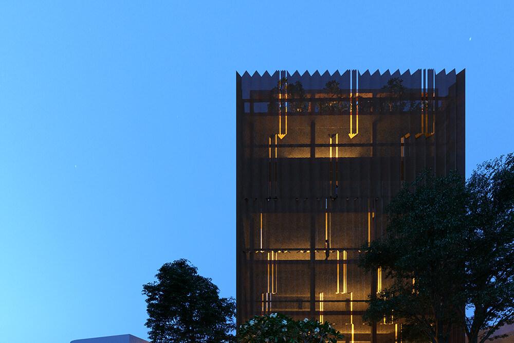 Immeuble de bureaux Thao Dien