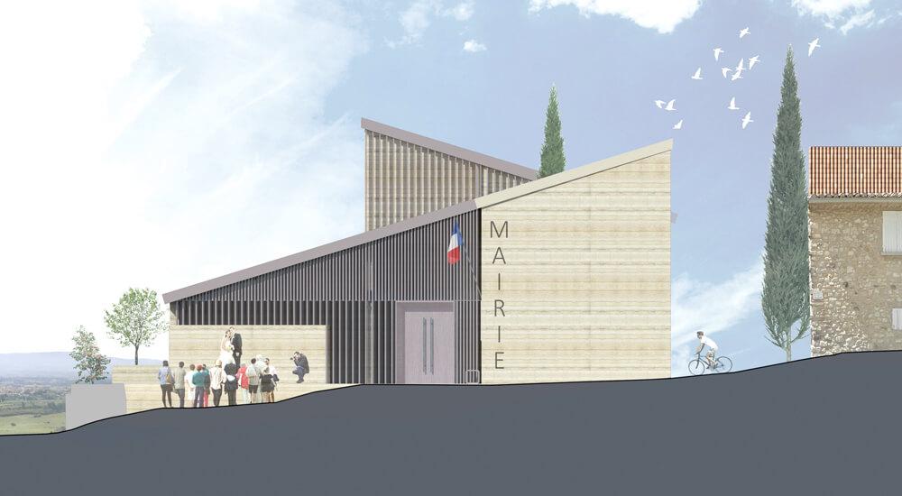 Mairie – Le Barroux (84)