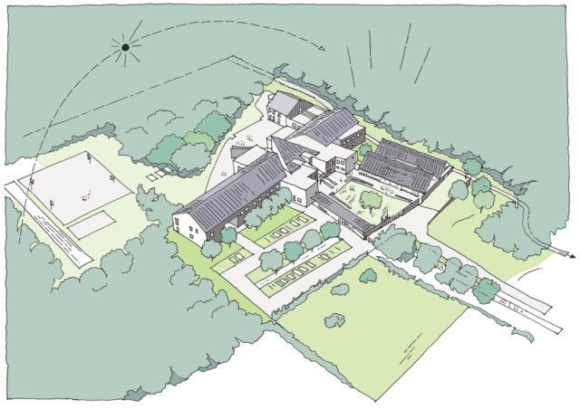Collège Denecourt -Bois-le-Roi (77)