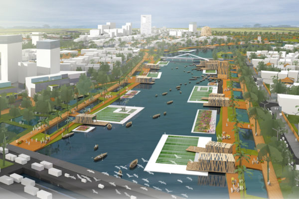 City master plan – Can Duoc (Vietnam)