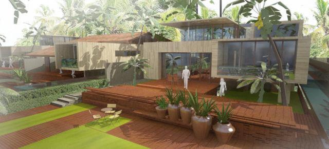 Projet urbain – Can Duoc (Vietnam)