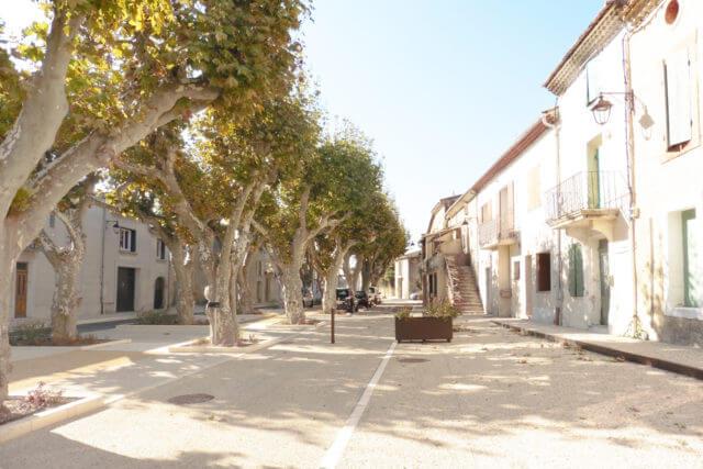 Không gian công cộng – Domazan (Pháp)