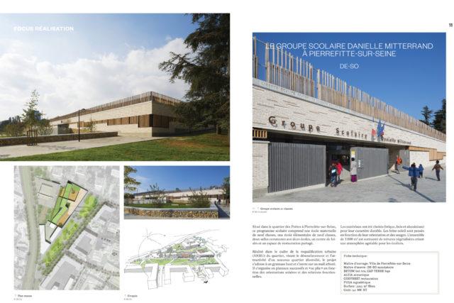 Le groupe scolaire de Pierrefitte-sur-Seine dans AMC
