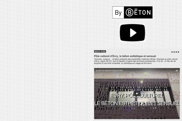 Vidéo EVRY By BETON