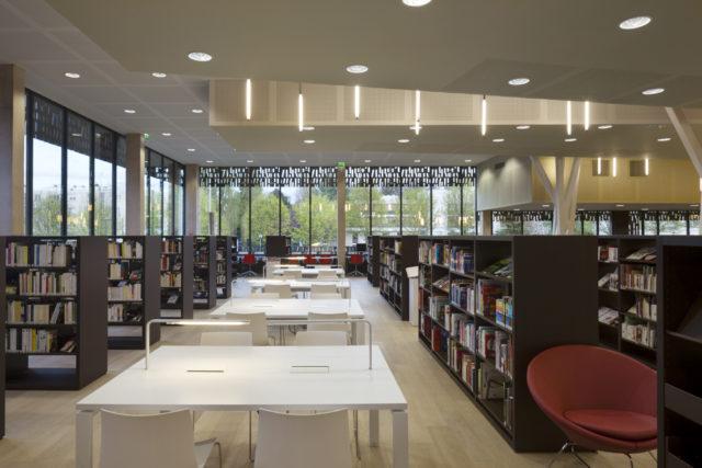 Thư viện và Nhạc viện – Evry (Pháp)