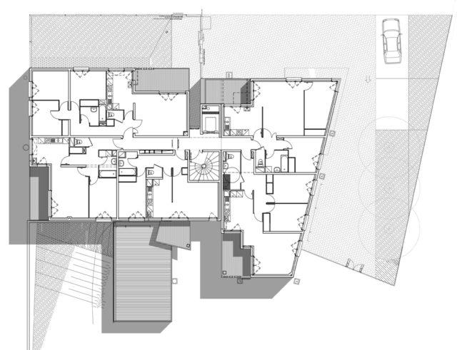 Chung cư 25+45 căn hộ – Grenoble (Pháp)