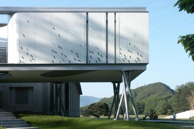 Văn phòng nhà máy nước – Grenoble (Pháp)