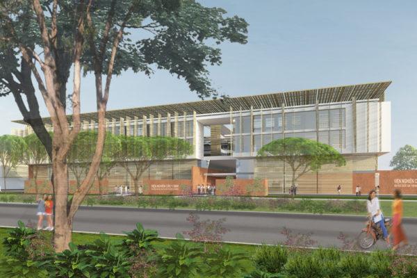 Khoa y và bênh viện thực hành & khu trung tâm viện nghiên cứu – Hồ Chí Minh, Việt Nam