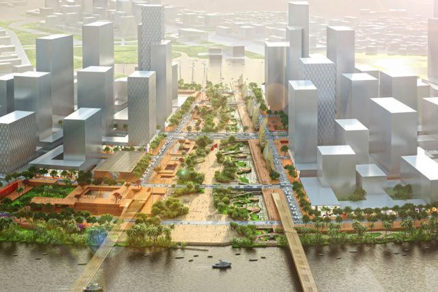 Quy hoạch Quảng trường trung tâm và Công viên bờ sông – Hồ Chí Minh, Việt Nam