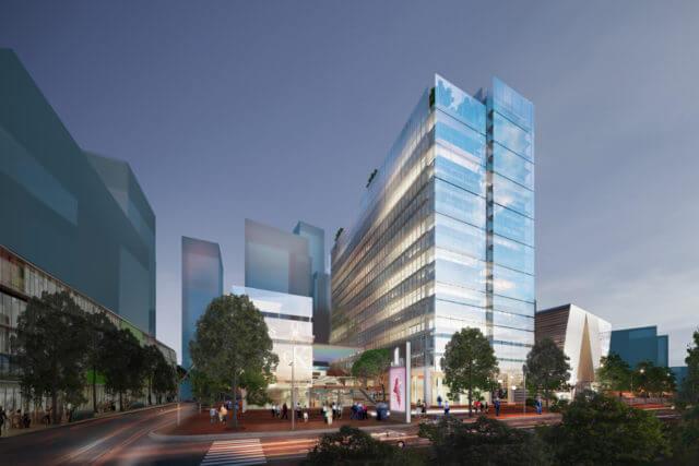 Tour de bureaux et commerces – HCMV (Vietnam)