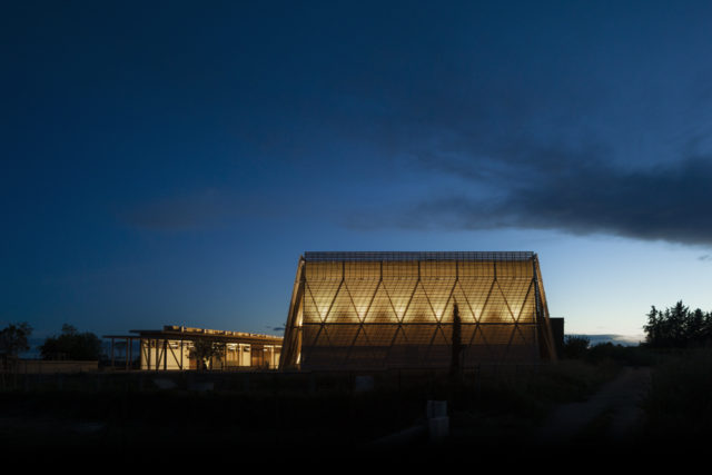 Performing arts center – Mazan (France)