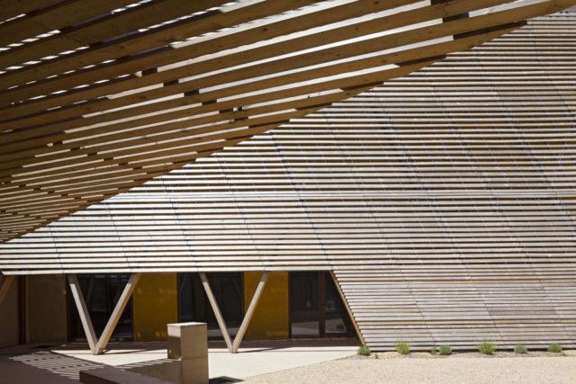 Biennale de Venise, La boiserie de Mazan au pavillon français
