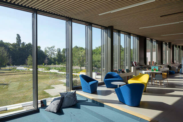 Media library and health center – Moret-Loing et Orvanne (77)