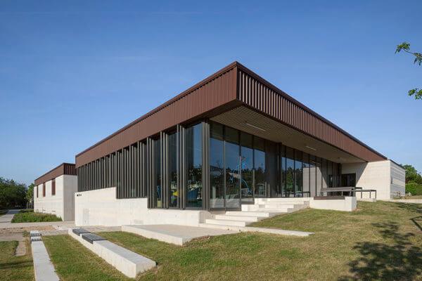 Thư viện truyền thông và trung tâm y tế – Orvanne (Pháp)