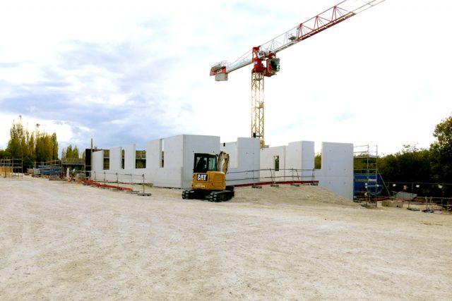Médiathèque et pôle santé – Moret-Loing-et-Orvanne (77) – Inauguration