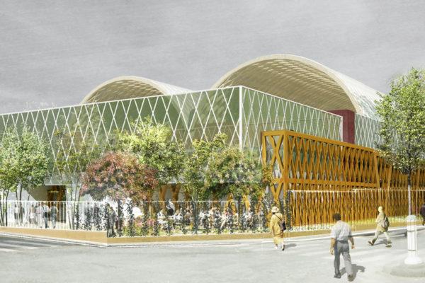 Complexe de tennis – Paris (20e)