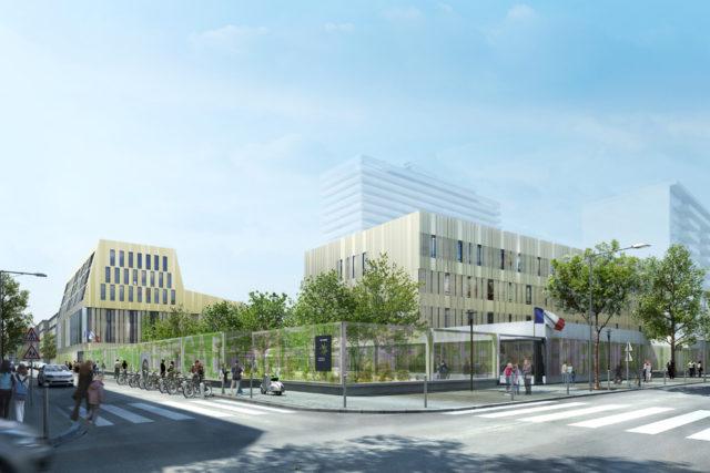 Lycée Gabriel Faure – Paris (13e)