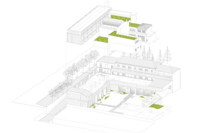 Nhóm trường – Près-Saint-Gervais (Pháp)