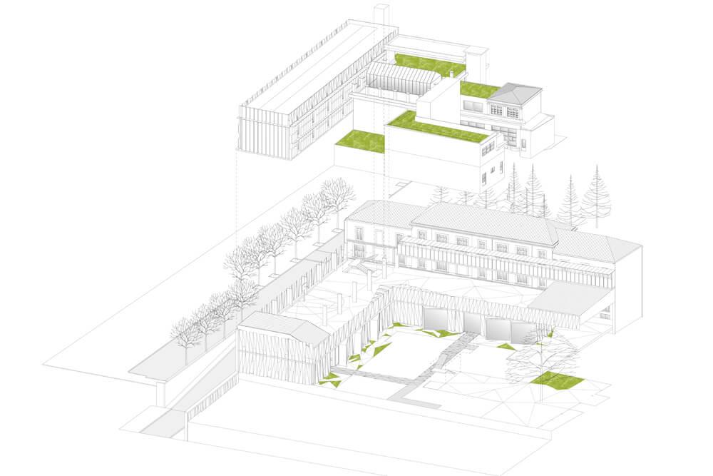 Groupe scolaire – Près-Saint-Gervais (93)