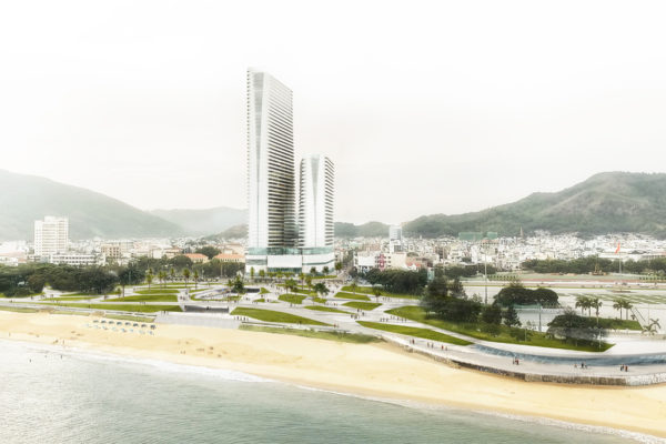 High Rise building -resort – Quy Nhon (Vietnam)