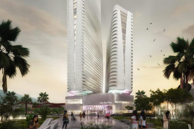 High rise building Hoa Sen – Quy Nhon, Vietnam