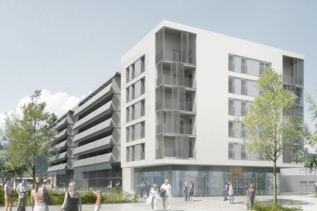 Logements et parking silo – La Ravoire (73)