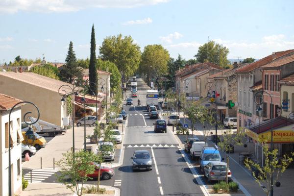 Traversée de ville – Saint-Andiol (13)