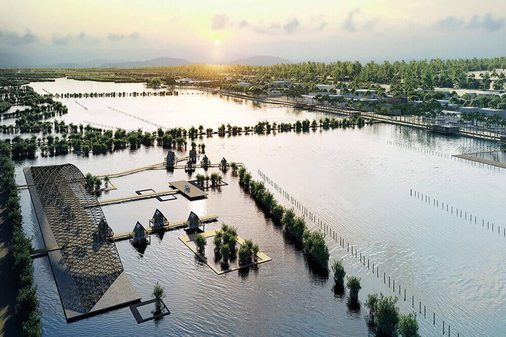 Amenagement de la lagune de Thi Nai