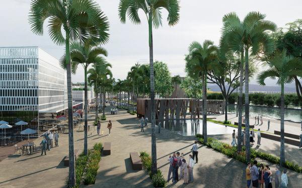 Thi Nhai Lagoon
