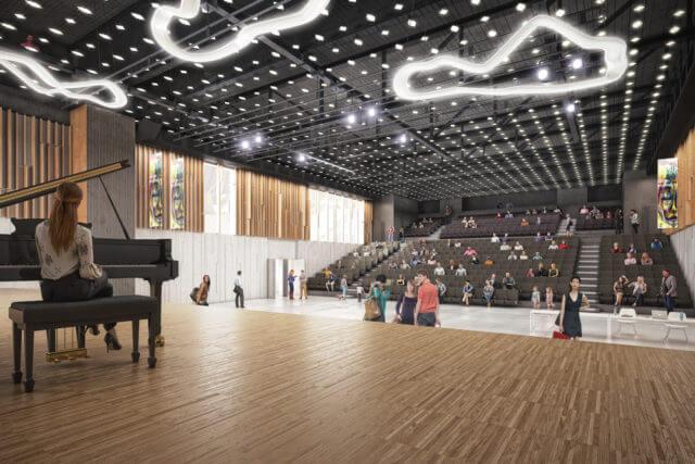 Multipurpose cultural and congress center Uzès
