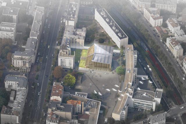 Sport center – Vincennes (France)