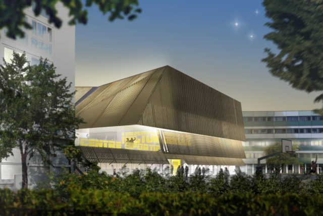 Sport center – Vincennes (France)