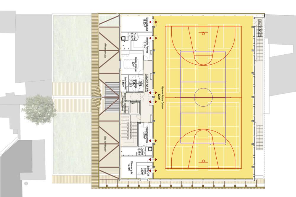 Gymnase – Vincennes (94)