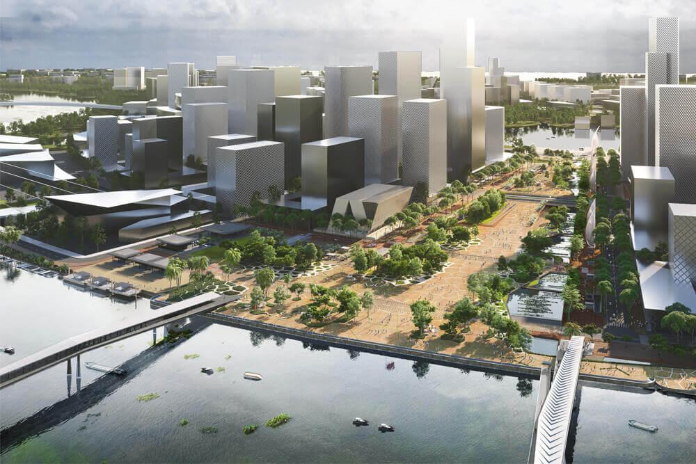 Grande place urbaine – HCMV (Vietnam)